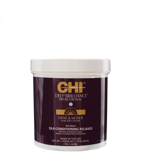 CHI Deep Brilliance Olive & Monoi Silk Conditioning Relaxer